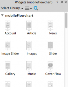Mobile flowchart library loaded