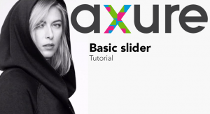 axure tutorial Basic slider