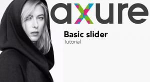 axure tutorial Basic slider
