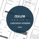 Axure Iphone mobile UI: Checkout
