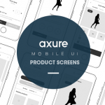 Axure Iphone mobile UI: Product page