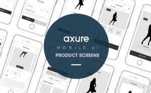Product mobile screens