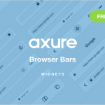 Axure Browser Bar widgets