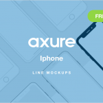 Axure Iphone Line Mockups
