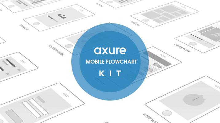 Axure Mobile Flowchart Kit