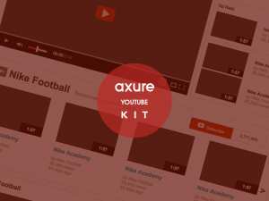 Youtube axure kit
