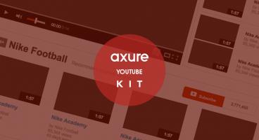 Youtube axure kit