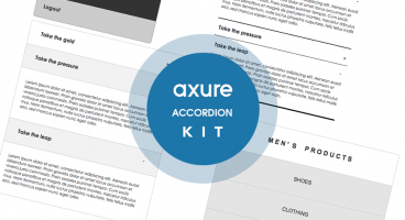 Accordion Axure kit