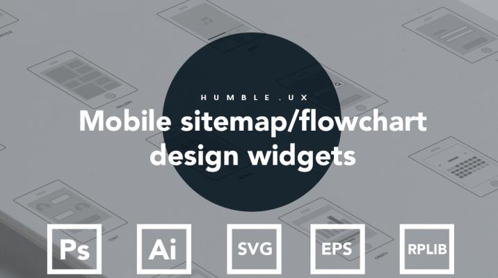 Axure mobile app design flow chart