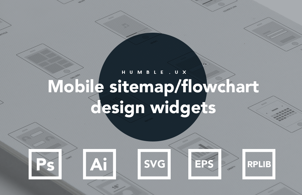 Axure mobile app design flow chart
