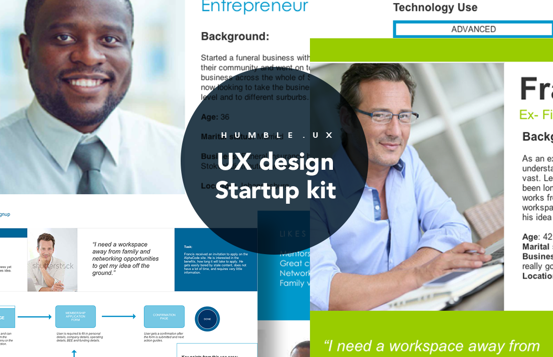 Axure ux design startup kit