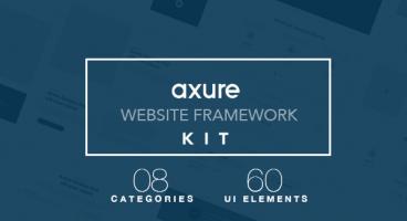 Axure Website Framework