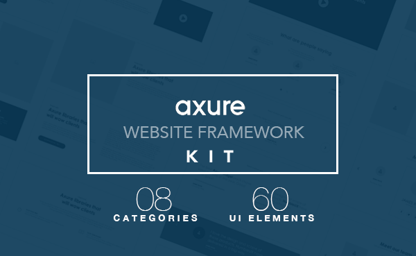 Axure Website Framework