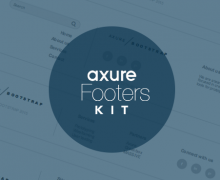 Axure footers