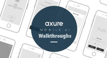 Axure UI walkthroughs