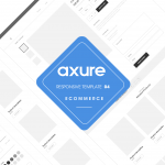 Axure responsive Ecommerce template4