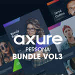 Personas Axure Kit Volume 3